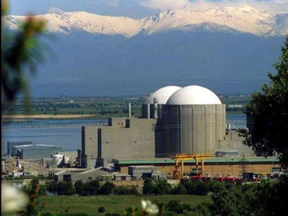 Central nuclear de Almaraz (Cáceres).
