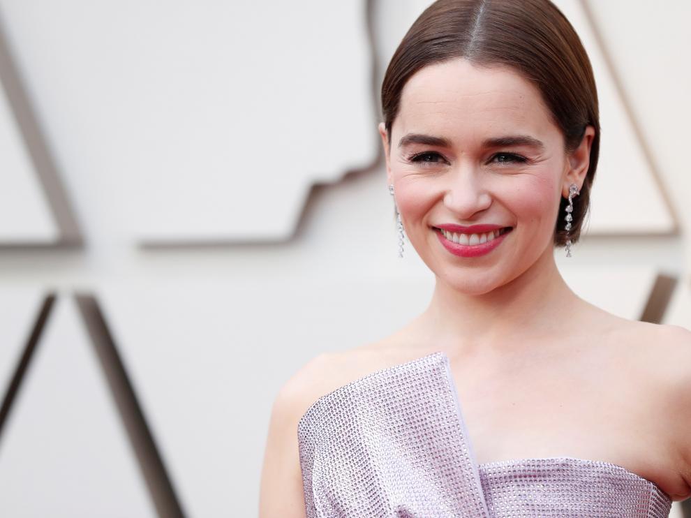 "Emilia Clarke sufrió dos aneurismas mientras rodaba ""Juego de Tronos"""