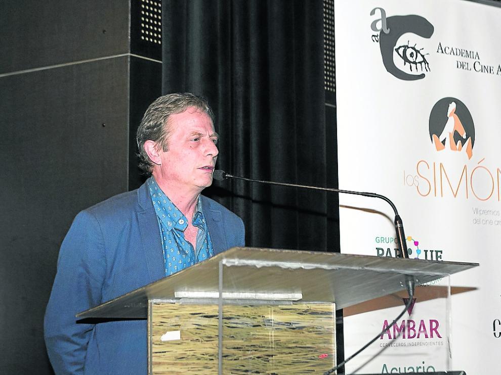Jesús Marco,presidente Academia Cine.