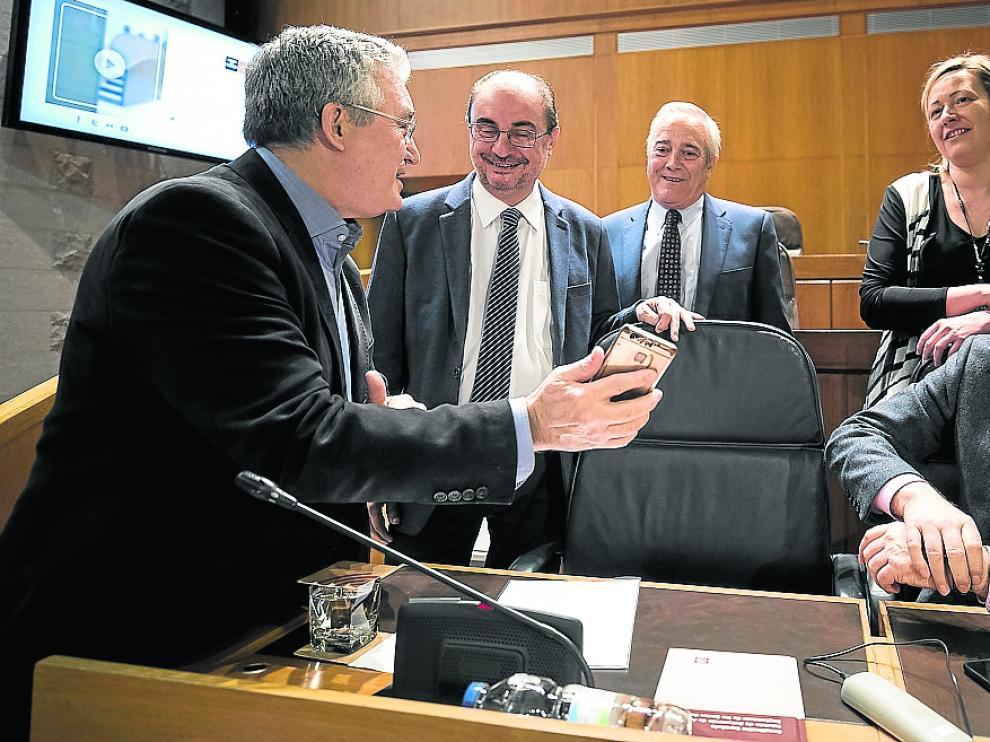 Pleno Cortes de Aragón 22/03/2019