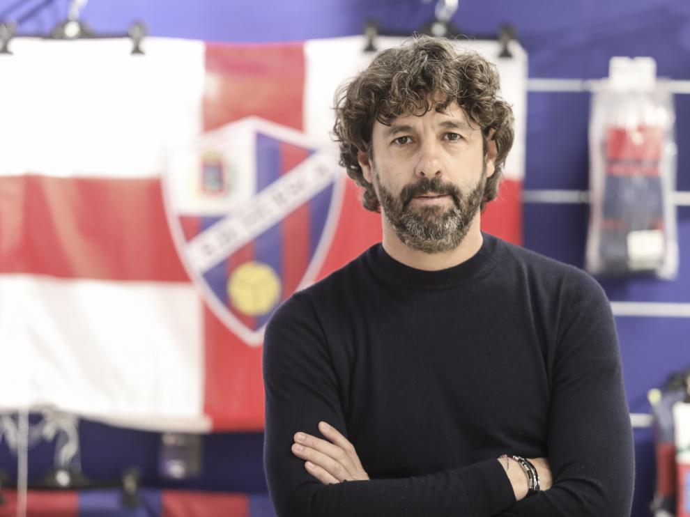 Emilio Vega, director deportivo de la SD Huesca / 18-3-19/ Foto Rafael Gobantes [[[FOTOGRAFOS]]]