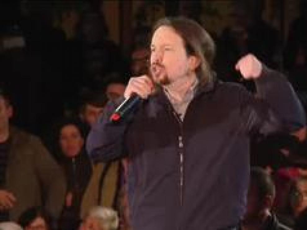 """""""Hemos jugado con las reglas del juego del adversario y no hemos sido capaces de cambiarlas"""", dice el líder de Podemos"""
