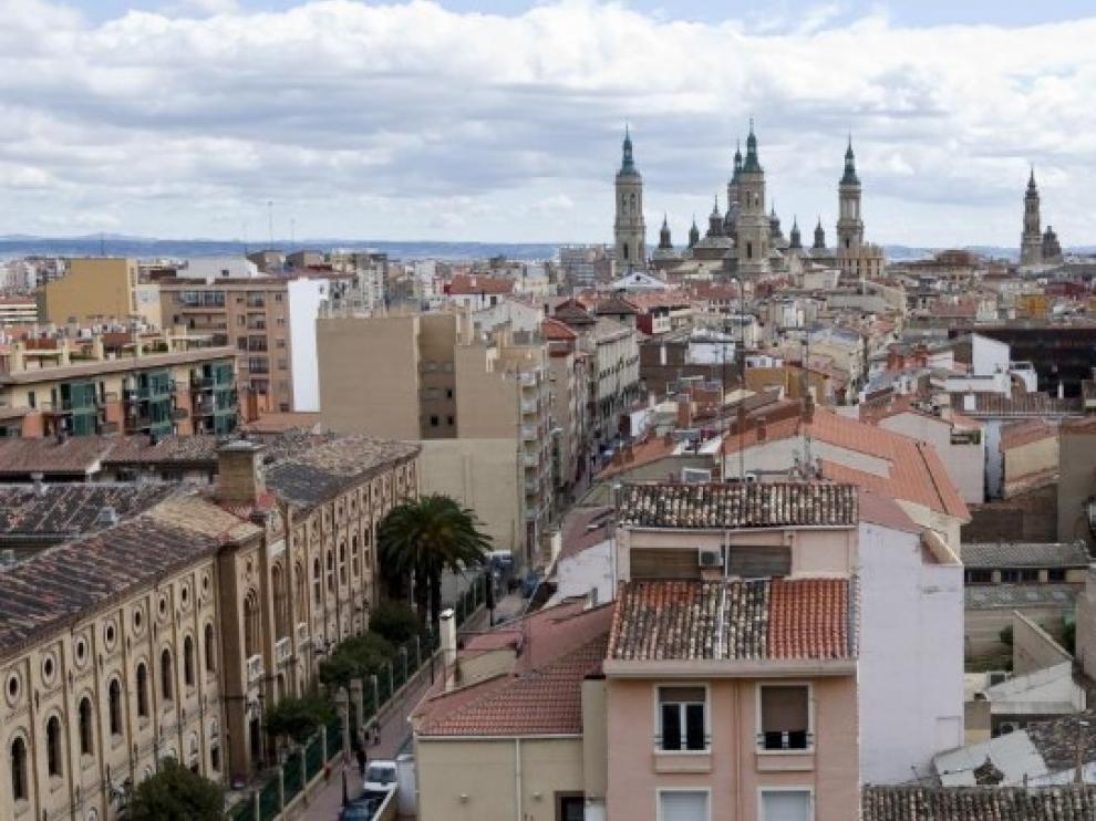 Panorámica de San Pablo, barrio donde se encuadra la calle de San Blas.
