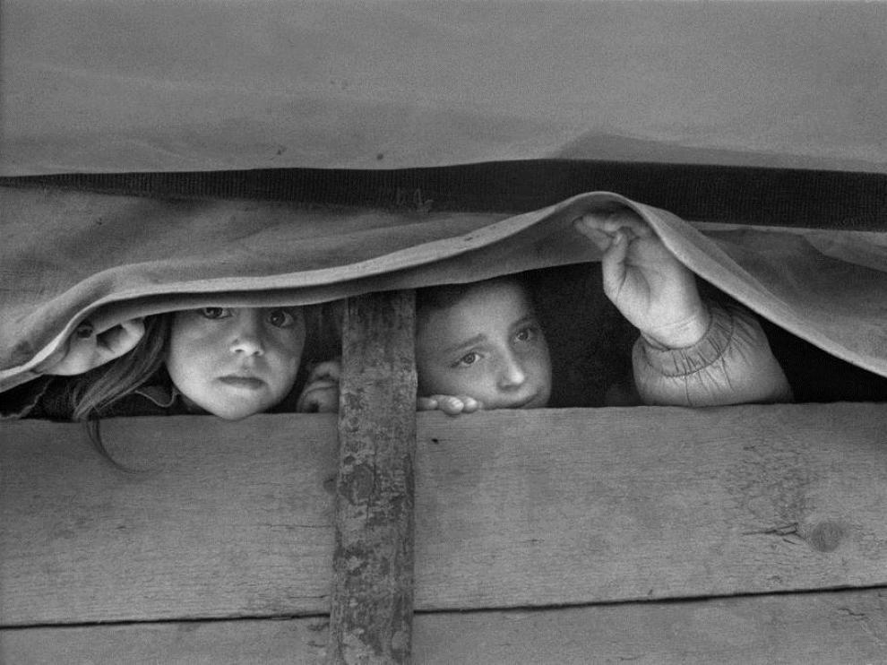 Belchite acoge una exposición del fotoperiodista Gervasio Sánchez