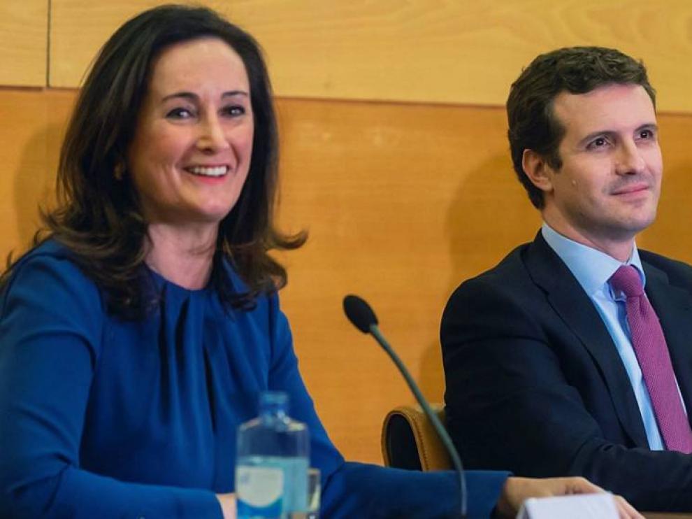 Casado ficha a Edurne Uriarte como número tres por Madrid al Congreso.