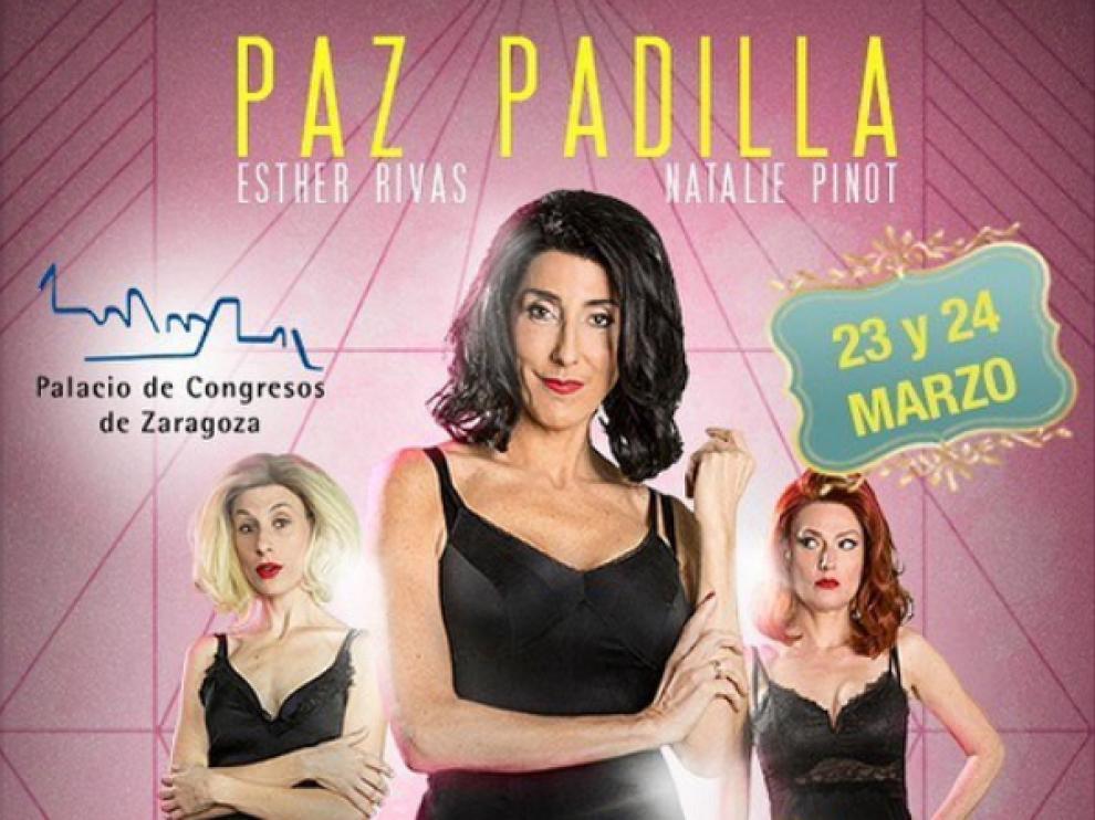 """La actriz y presentadora Paz Padilla estuvo en Zaragoza para presentar su comedia teatral, """"Desatadas""""."""
