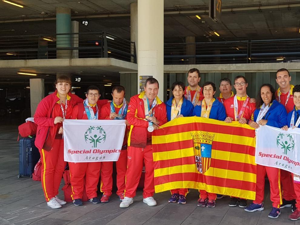Aragón triunfa en los Special Olympics de Abu Dabi.