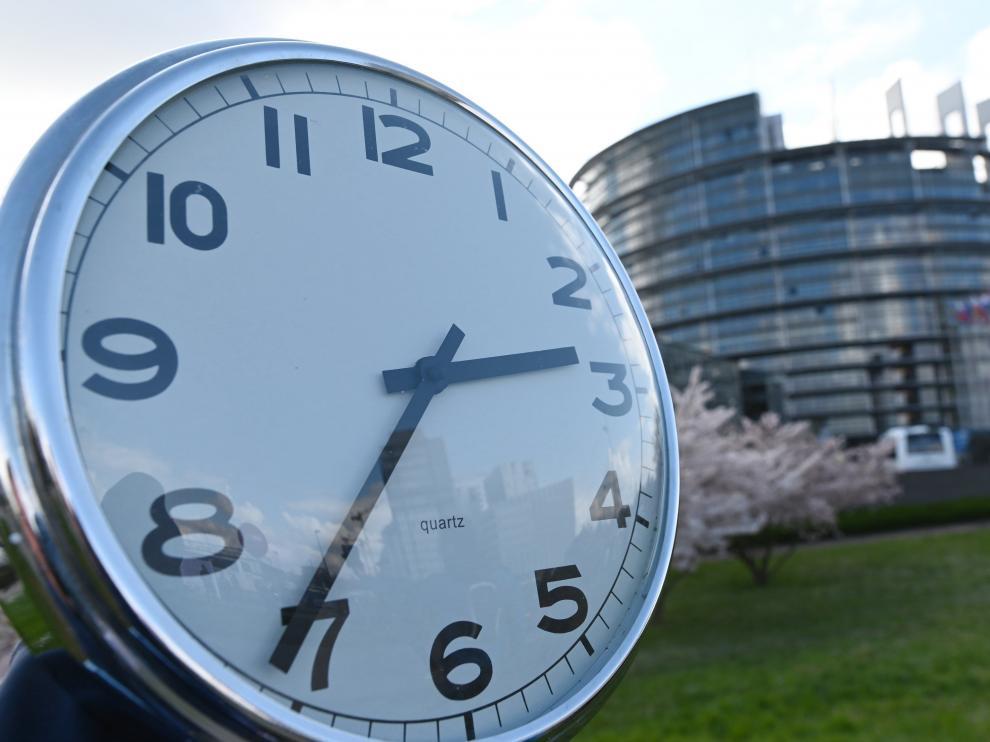 Reloj Parlamento Europeo
