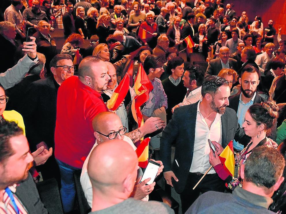 P. de Congreso.VOX.Heraldo / 26-03-2019 / Foto Roger Navarro [[[FOTOGRAFOS]]]