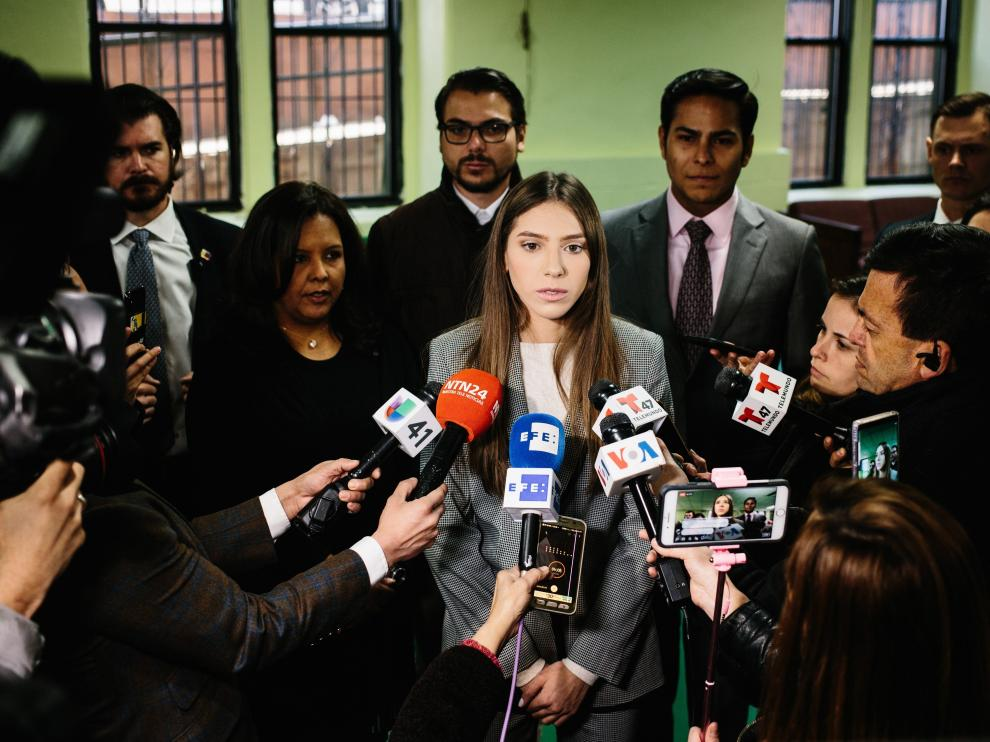 Esposa de Juan Guaidó denuncia ataque en Caracas al líder opositor venezolano