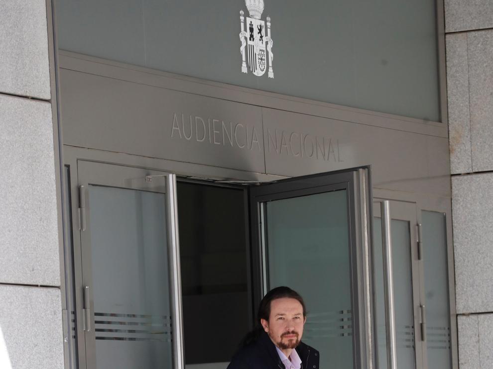 """Pablo Iglesias señala a """"una trama criminal que vincula a policías corruptos, medios de comunicación y empresarios"""""""