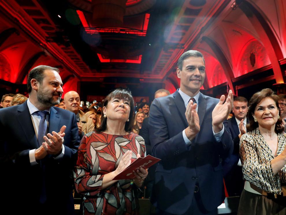 Pedro Sánchez presenta las 110 medidas de cara a las elecciones generales.