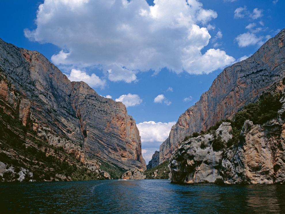 Congosto de Montrebei, en Viacamp y Litera, en el Montsec de Aragón.