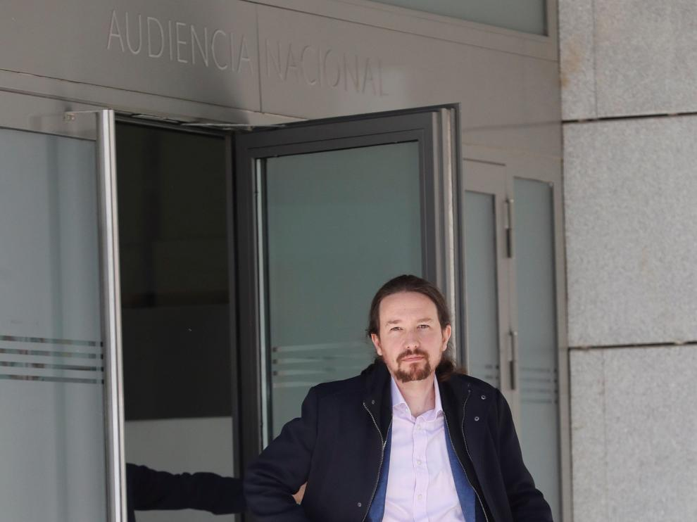 Pablo Iglesias se persona en el 'caso Villarejo'
