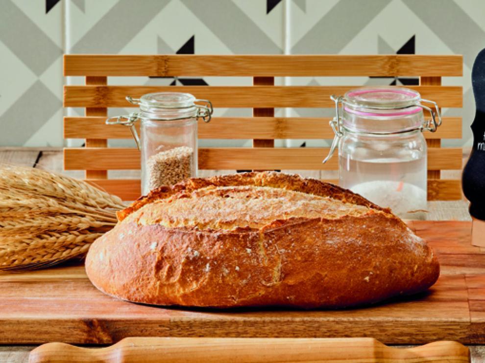 El pan Tritorideum se elabora de forma lenta con masa madre de cultivo.