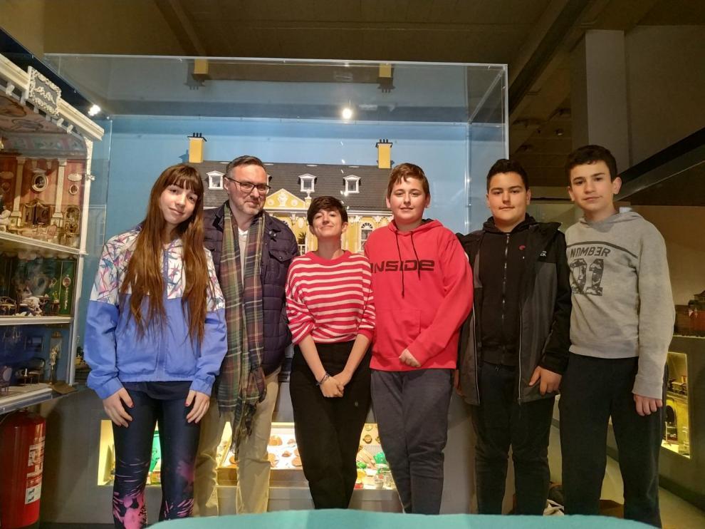 Los alumnos del IES Pedro Laín Entralgo participan en un curso de stop-motion.