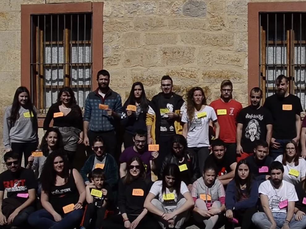 Los jóvenes se suman a 'La revuelta de la España vaciada'.