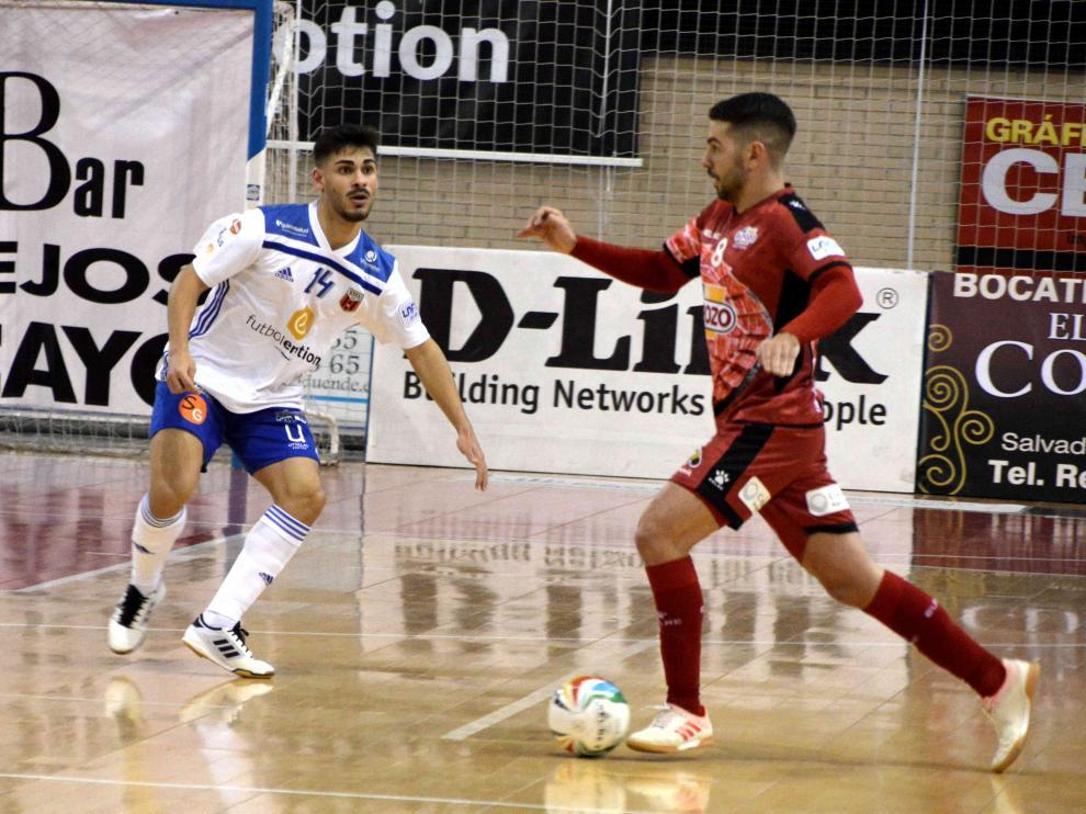 Partido de la primera vuelta entre el Fútbol Emotion y El Pozo Murcia