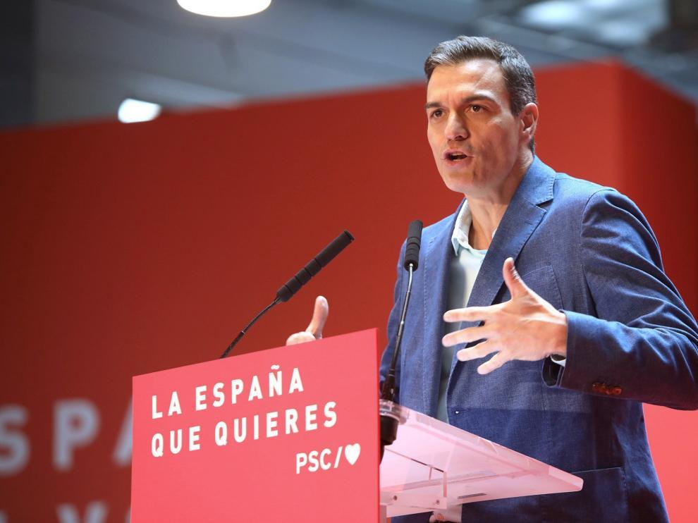 Pedro Sánchez en Tarragona.