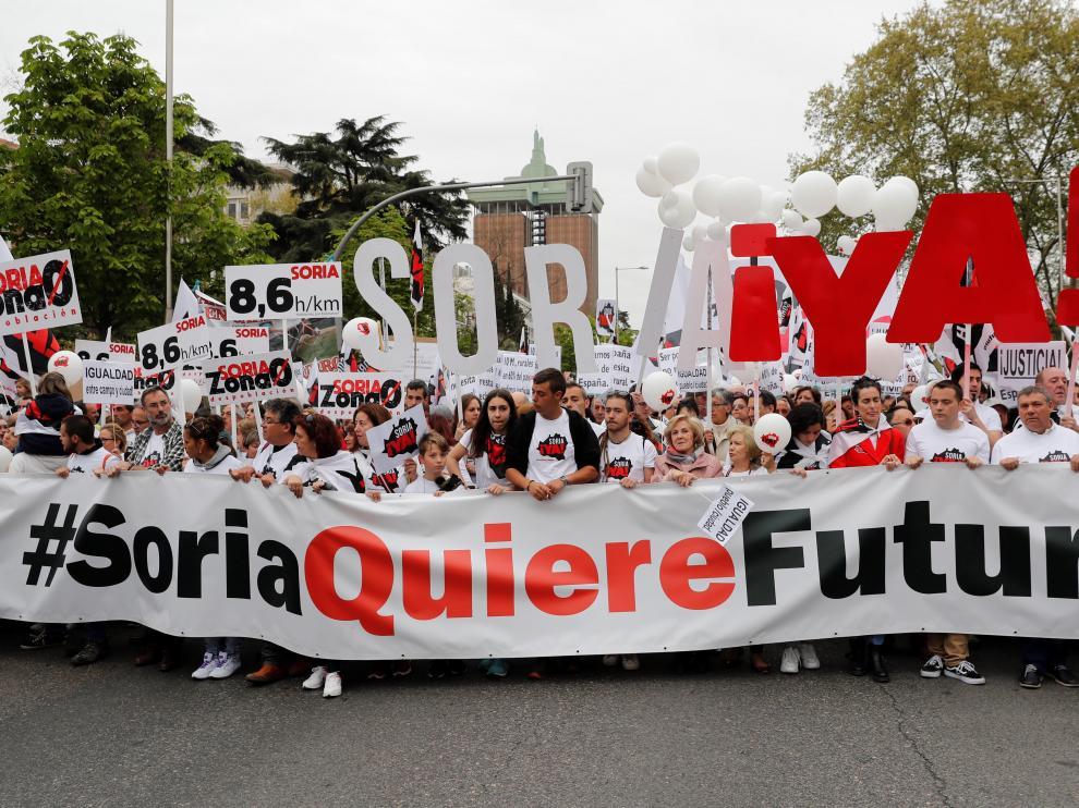 ¡Soria Ya!, organizadores de la 'Revuelta de la España vaciada'.