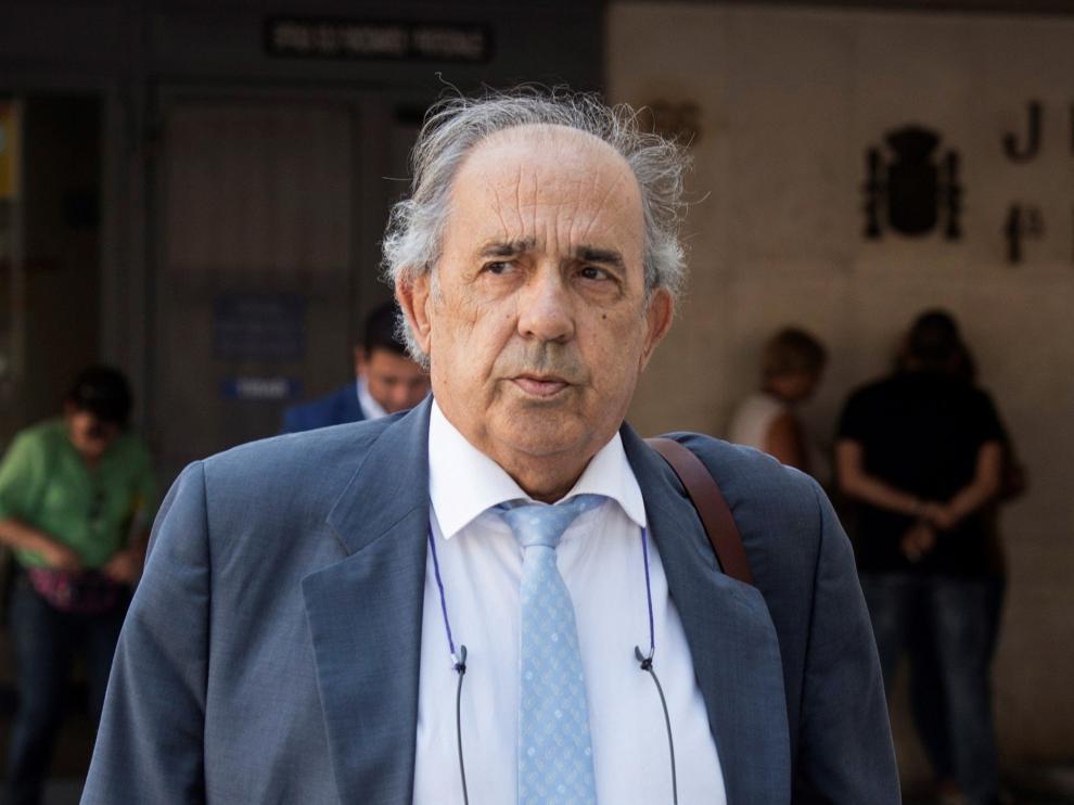 El catedrático de Derecho Constitucional, Enrique Álvarez Conde, en una imagen de septiembre de 2018.