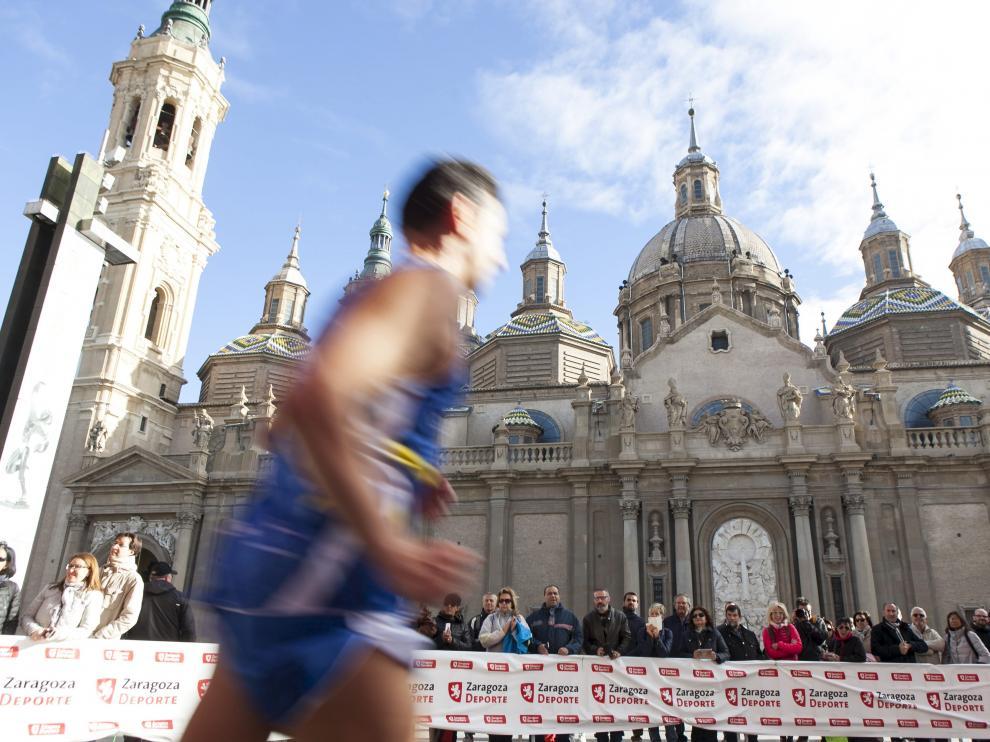 Maratón Ciudad de Zaragoza.