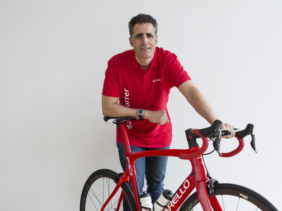 El pentacampeón del Tour, Miguel Induráin