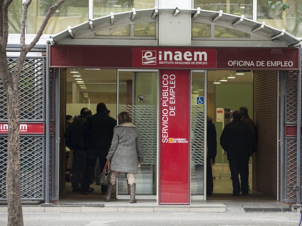 Oficina de empleo del Inaem en Zaragoza
