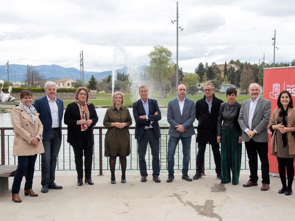 Candidatos del PSOE al Congreso y al Senado por Huesca.