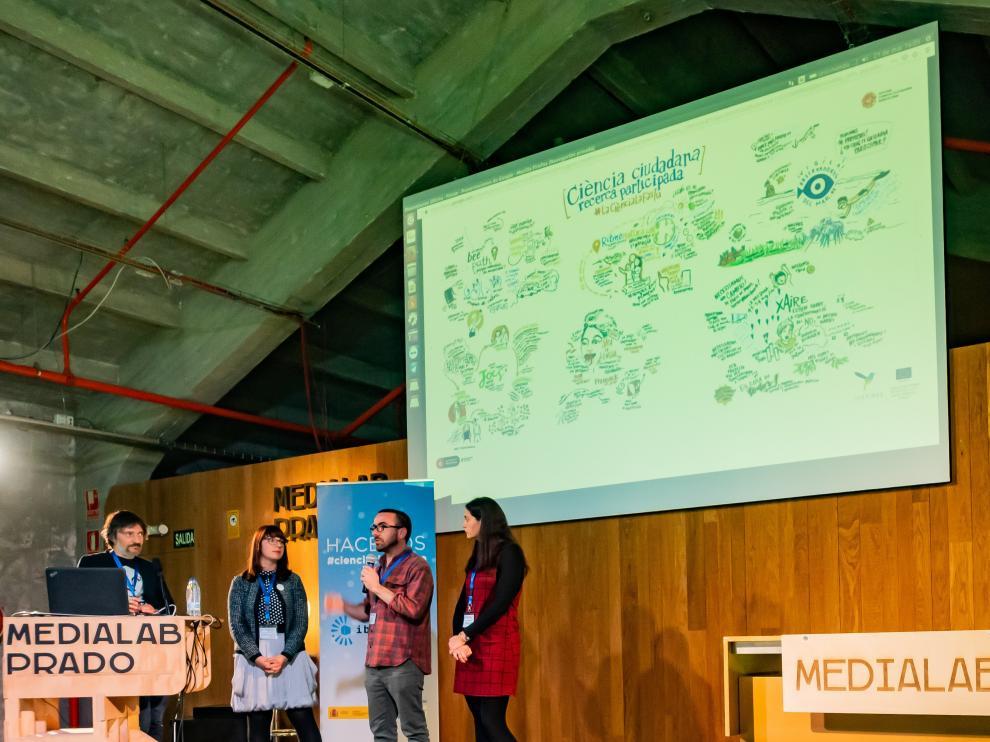 I Foro Internacional de la ciencia ciudadana en España, en Medialab Prado