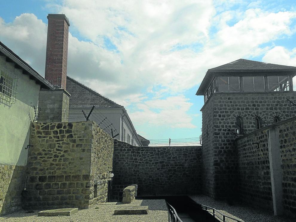 El campo de concentración de Mauthausen.