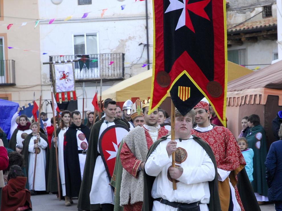 Miles de personas participan cada Semana Santa en la recreación.