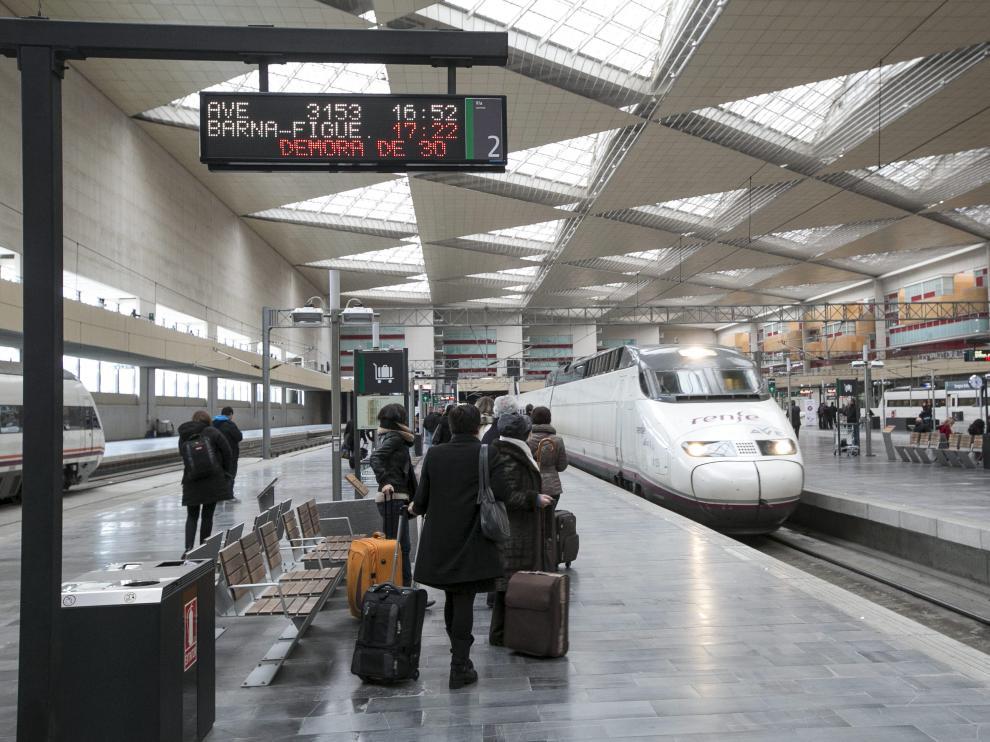 La estación Delicias de Zaragoza.
