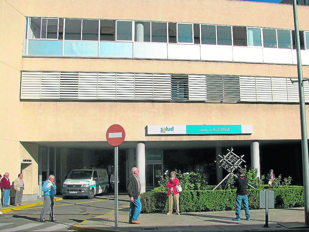El hospital de Alcañiz –en la foto– cierra la consulta de Reumatología a partir del próximo 15 de abril.