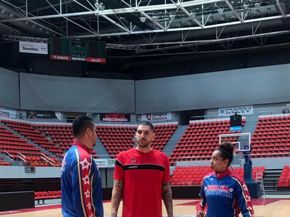 Nacho Martín, junto a Ice y el Gato Meléndez.