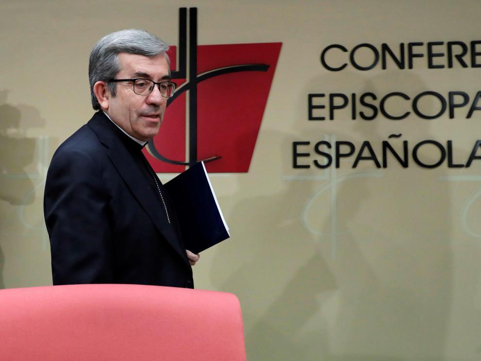 El secretario general de la CEE, Luis Argüello