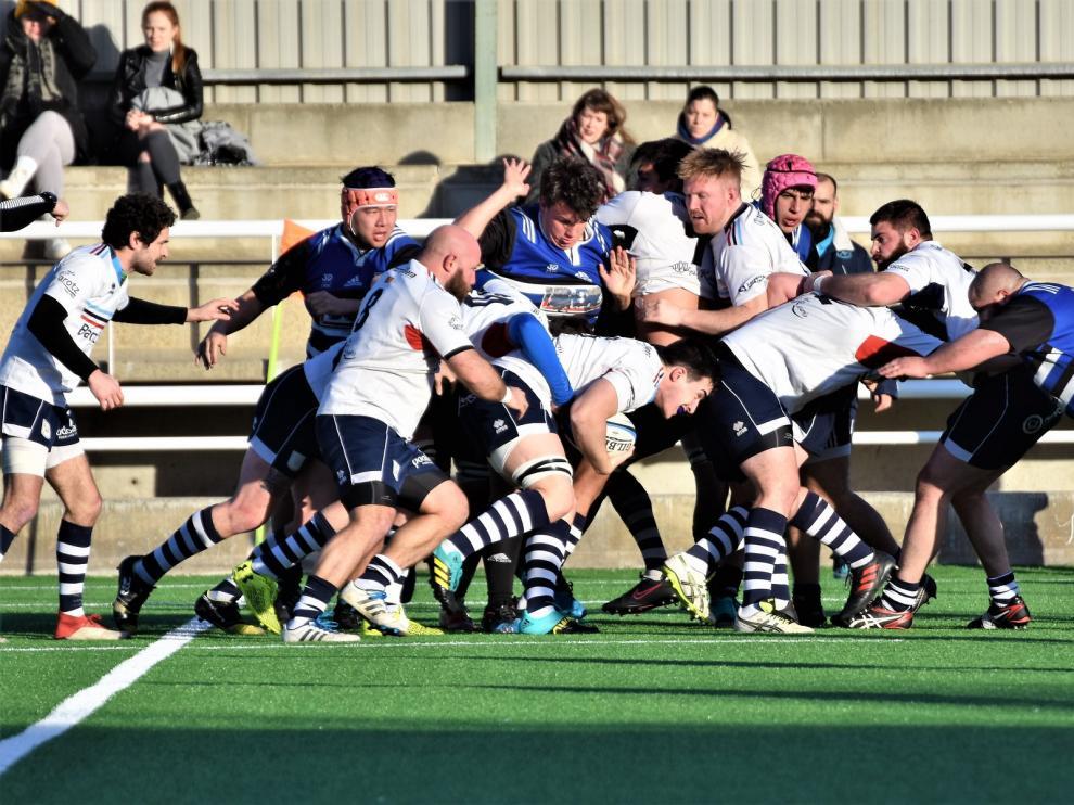 Imagen de un partido del Bantierra Fénix de esta temporada