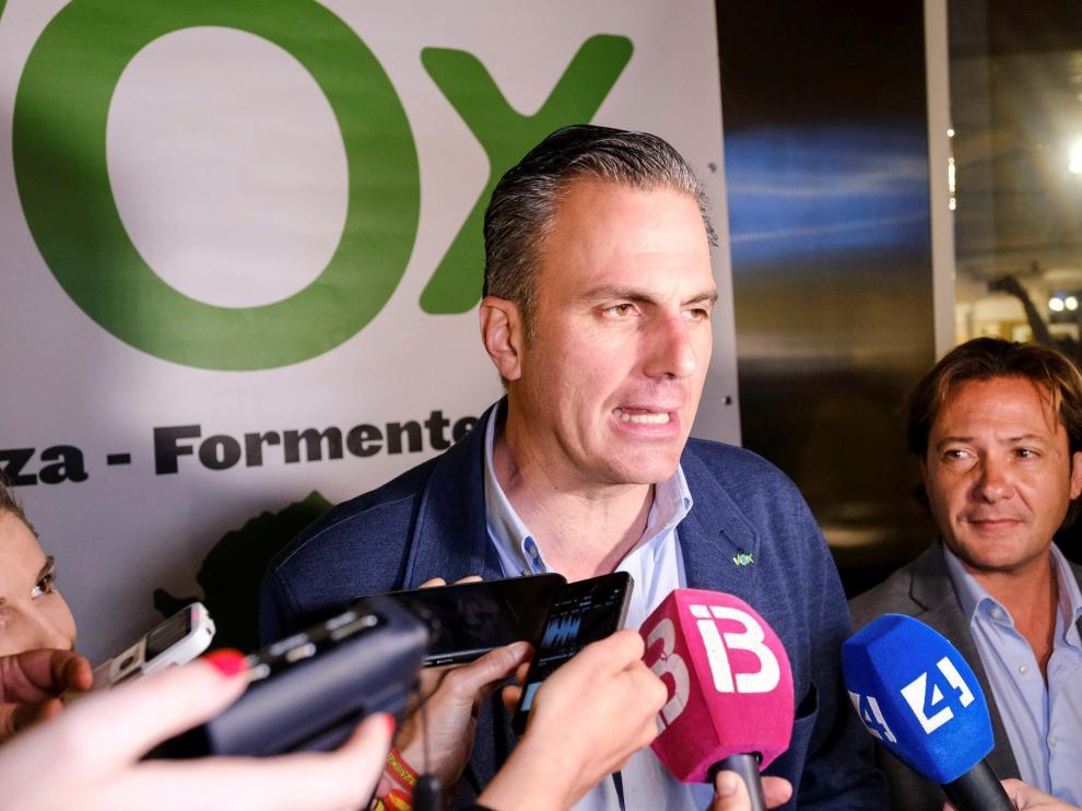 El secretario general de Vox, Javier Ortega Smith.