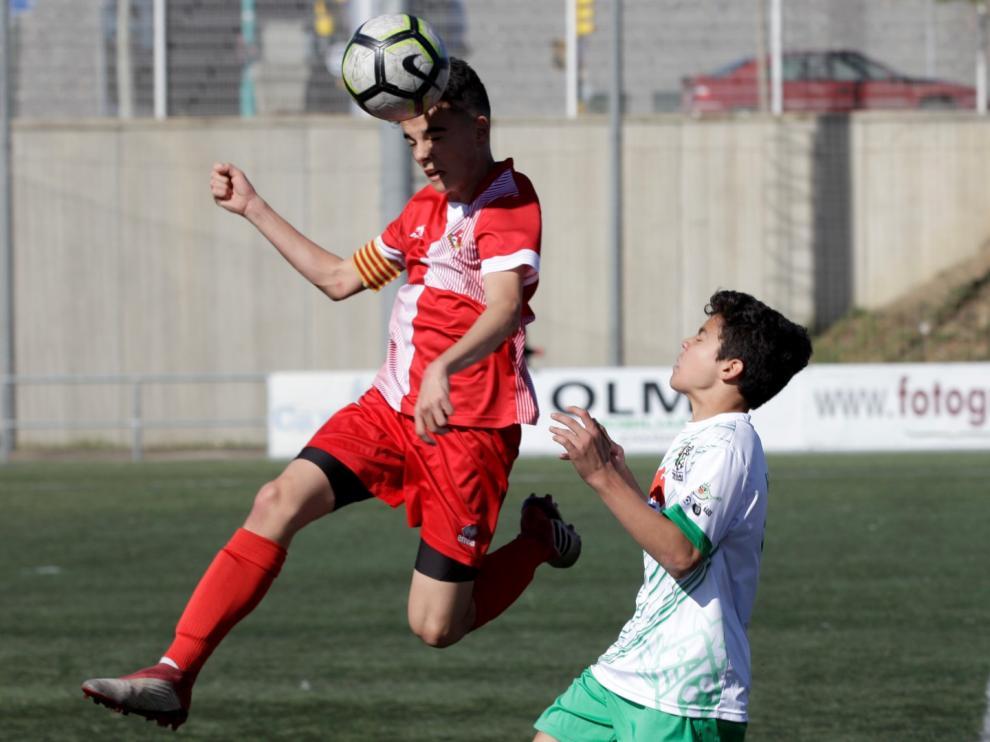 Fútbol. DH Infantil- Actur Pablo Iglesias vs. Peñas Oscenses.