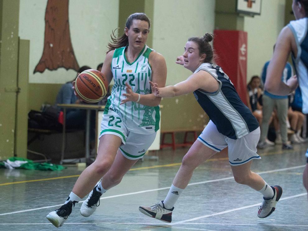 Baloncesto. Junior Femenino- El Olivar vs. Marianistas.
