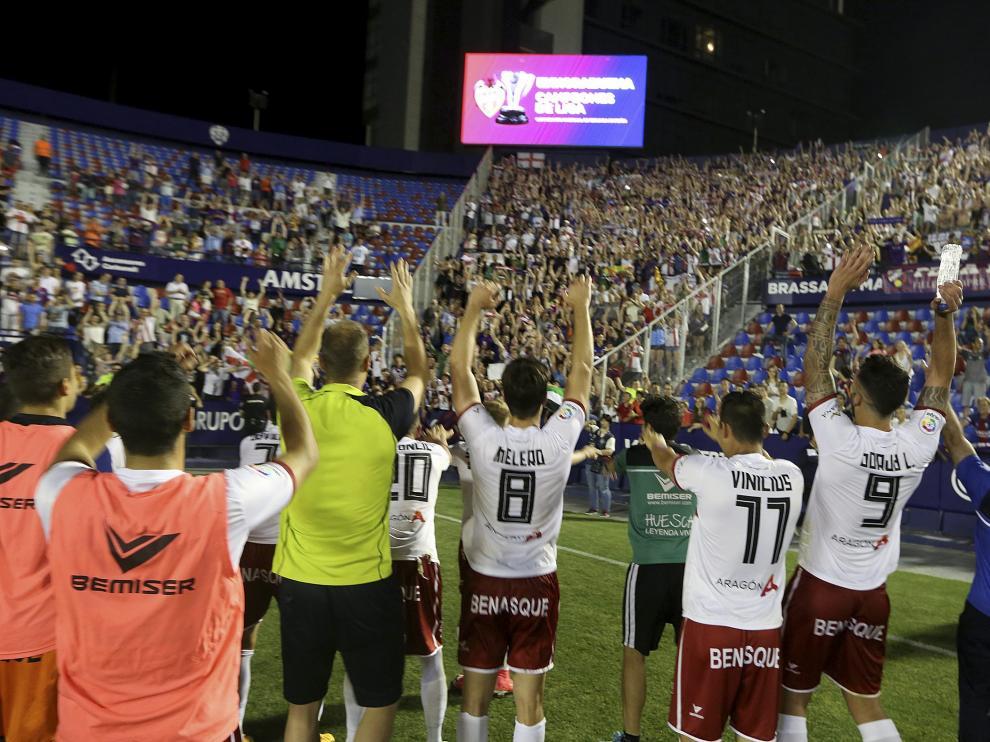 Partido Levante Huesca . Final  /Foto Rafael Gobantes /10-6-17 [[[FTP PRINCIPAL FOTOGRAFOS]]]