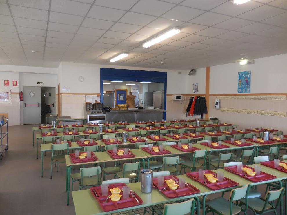 Comedor del colegio Valdespartera
