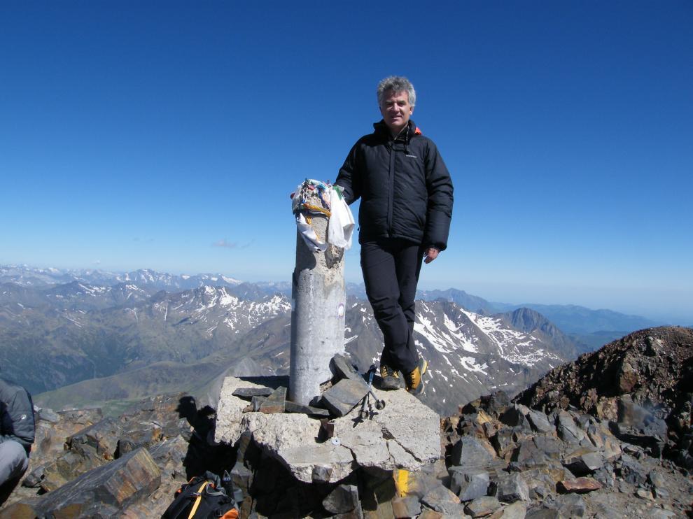 El médico Alberto Rubio fallecido en el Himalaya.