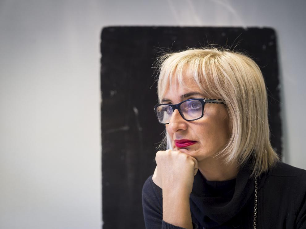 La escritora Patricia Esteban Erlés.