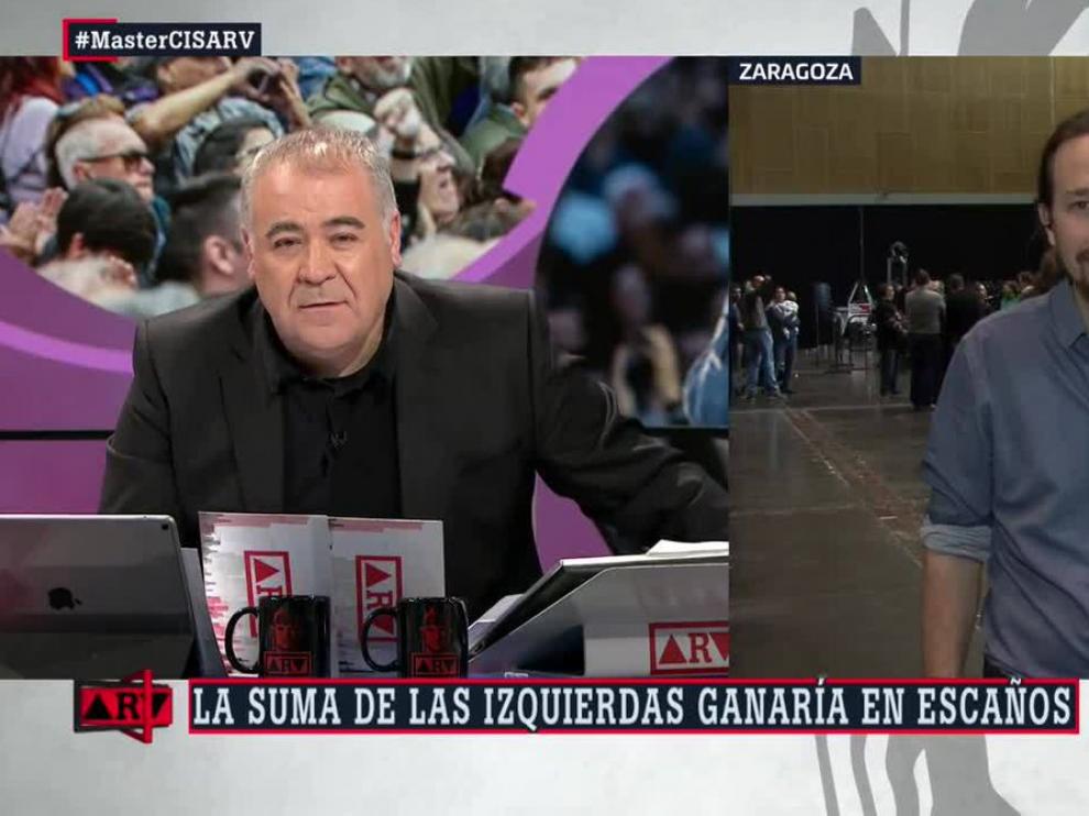 """Iglesias a Ferreras: """"Tú eres uno de los mayores protectores de Eduardo Inda"""""""
