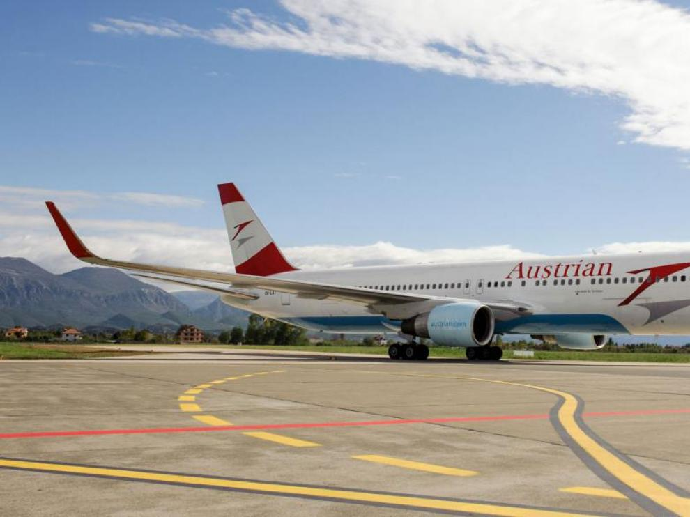 El dinero iba a ser trasladado en un vuelo comercial de Austrian Airlines