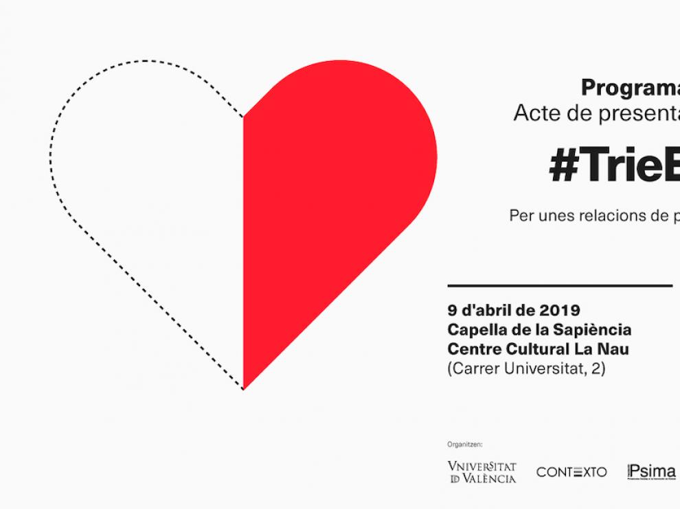 Cartel de presentación de la campaña #ElijoQuerer contra la violencia machista