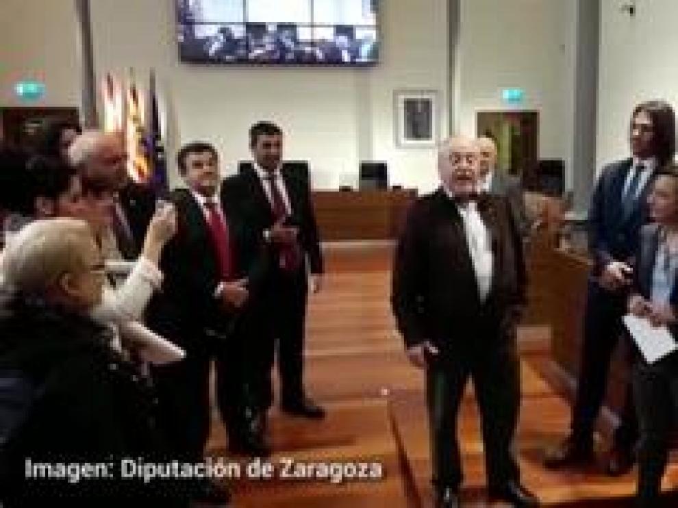 Todos los grupos han apoyado la declaración institucional para apoyar la jota como patrimonio de la Humanidad.