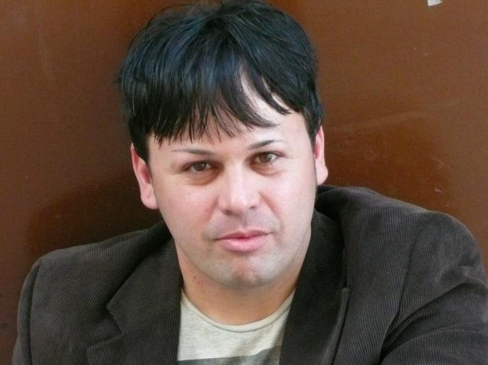 El escritor oscense, Óscar Sipán.