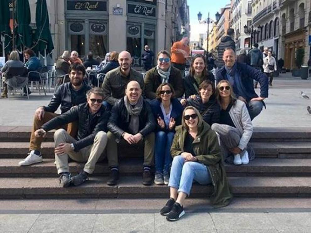 El grupo de amigos volverá a reunirse en Zaragoza en el año 2025.